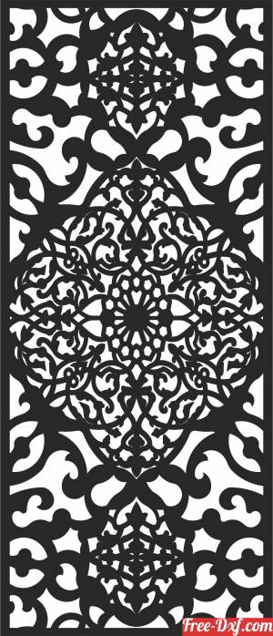 download Screen   pattern door   DECORATIVE screen DECORATIVE free ready for cut