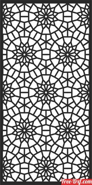 download door  WALL  Pattern free ready for cut