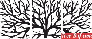 download tree branches wall decor free ready for cut