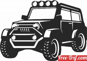 download jeep 4x4 clipart car silhouette free ready for cut