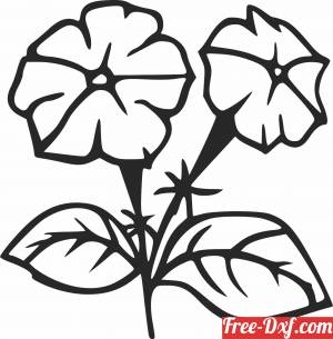 download Floral flowers home decor free ready for cut