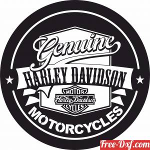 download genuine harley davidson motorcycle free ready for cut
