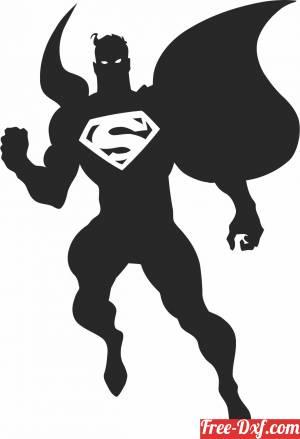 download super man Marvel Avengers Superhero logo free ready for cut