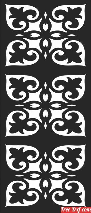 download Decorative door  screen Pattern screen   decorative free ready for cut