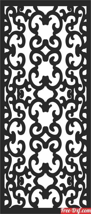 download decorative  DOOR  wall Pattern door free ready for cut