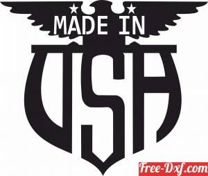 download made in USA wall sign free ready for cut