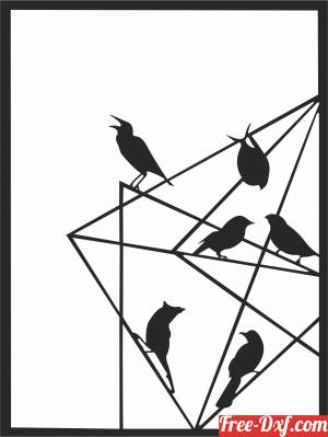 download birds tableau clipart free ready for cut