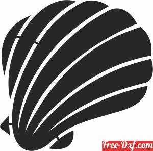 download Sea Shell Fish clipart free ready for cut