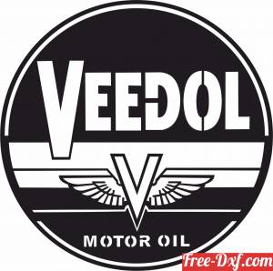 download veedol motor oil Logo Wakefield Retro Sign free ready for cut