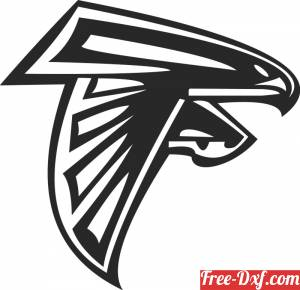 download Atlanta Falcons NFL logo American football free ready for cut