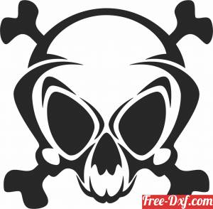 download Skull cliparts free ready for cut
