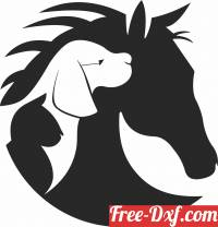 download horse cat dog clipart free ready for cut