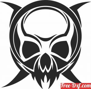 download Skull face cliparts free ready for cut