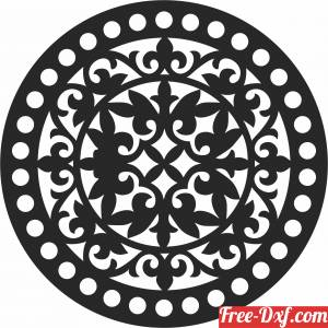 download Mandala clipart wall decor free ready for cut