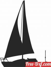 download sailboat sailing ship free ready for cut