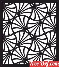 download decorative panel screen pattern leaves free ready for cut