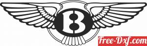 download Bentley logo free ready for cut