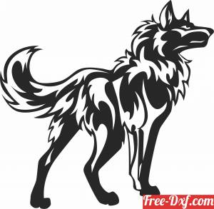 download wolf cliparts free ready for cut