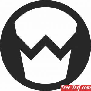 download marvel symbol logo free ready for cut